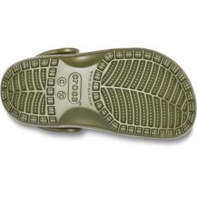 Crocs Classic Clogs Niños, army green